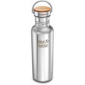 Klean Kanteen Reflect Bottle Bamboo Cap 800ml mirrored stainless